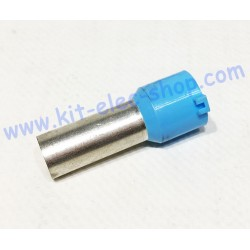 Cable end 50mm2 blue long...