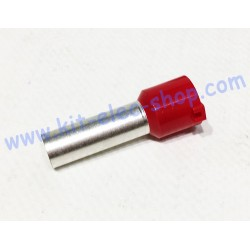 Cable end 35mm2 red long...