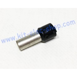 Cable end 25mm2 black DZ5CA253