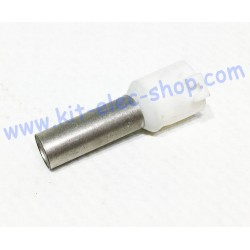 Cable end 16mm2 white long...