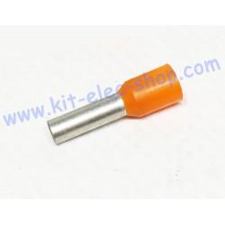 Cable end 4mm2 orange DZ5CE042