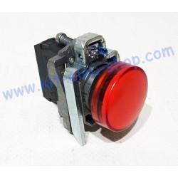 RED warning light 24V XB4BVB4