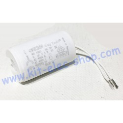 Start-up capacitor 6uF 450V...