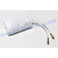 Start-up capacitor 7uF 450V...
