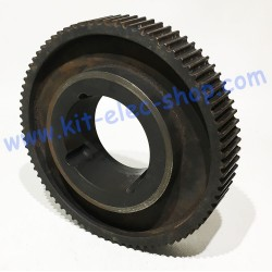80 teeth HTD 8m 2517 Taper...