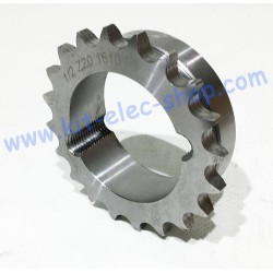 20 teeth steel sprocket...