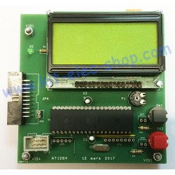 ATmega1284-PU board with...