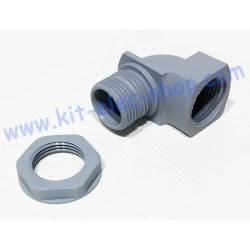90° elbow for M20 cable gland