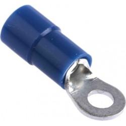 Cosse à oeillet 3mm bleue...