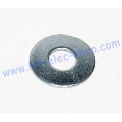 Rondelle US 7/16 plate MU zinc