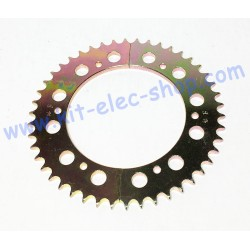 46-tooth steel sprocket for...