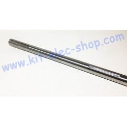 Solid steel shaft of 30mm...