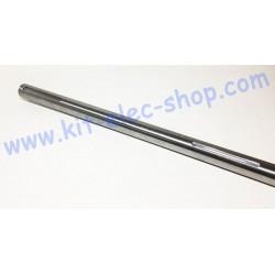 Solid steel shaft of 30mm...