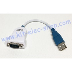 USB Adapter RS232 DB9 male...