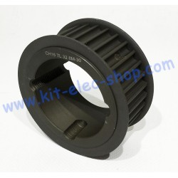 32 teeth HTD 8m 1615 Taper...
