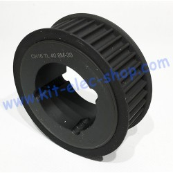 40 teeth HTD 8m 1615 Taper...