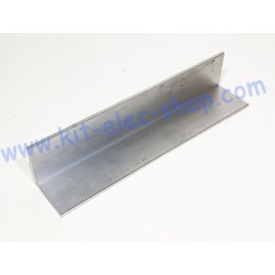 Raw aluminium angle bracket...