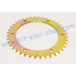 40-tooth steel sprocket for...