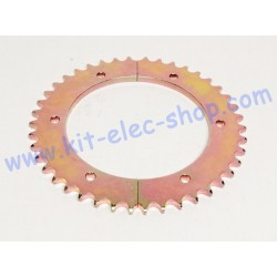 42-tooth steel sprocket for...