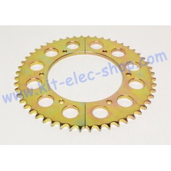 52-tooth steel sprocket for...
