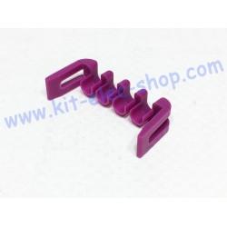 Verrou violet 4 positions...