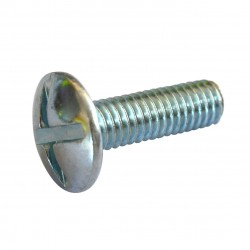 Poilier zinc screw M6x30