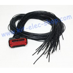 Cable with 35-pin AMPSEAL...