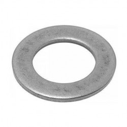 US 1/4 FLAT WASHER MU ZINC