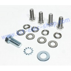 Kit de vis US 3/8 22mm inox...