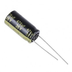 Condensateur 470uF 35V...