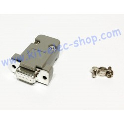 DB9 female socket with cover