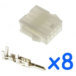 MOLEX female 8 pin...