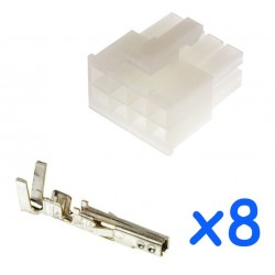 MOLEX male 8 pin connector...