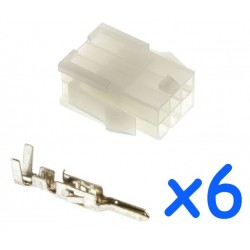 MOLEX female 6 pin...