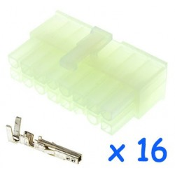 MOLEX male 16 pin connector...