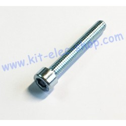 CHC screw M6x40 zinc