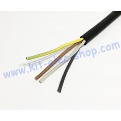 Câble souple 4G2.5 le mètre