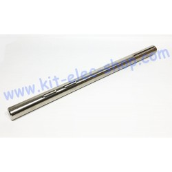 Solid stainless steel shaft...