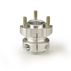 Short aluminium rear hub 30mm