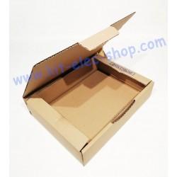Carton simple cannelure...