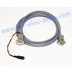 Câble CAN connecteur DB9...