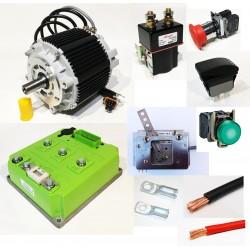 Go-kart electrification kit...