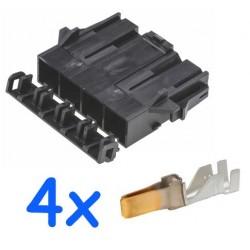 Pack connecteur mâle Molex...