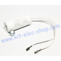 Start-up capacitor 7.5uF...