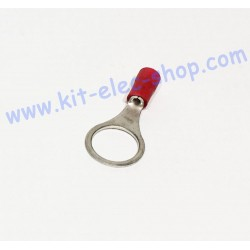 Red 10mm ring crimp...