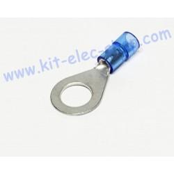 Blue 8mm ring crimp...