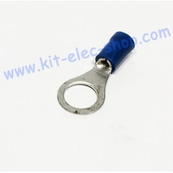 Blue 8mm ring crimp...