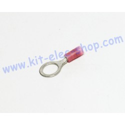 Pink 8mm ring crimp...