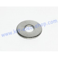 Flat washer M10 stainless...