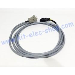 Câble CAN connecteur mâle...